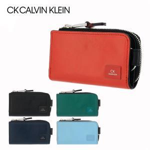 シーケー カルバンクライン キーケース 小銭入れ ワキシー メンズ 809621 CK CALVIN KLEIN | L字ファスナー 牛革 本革 レザー ブランド専用BOX付き|sacsbar