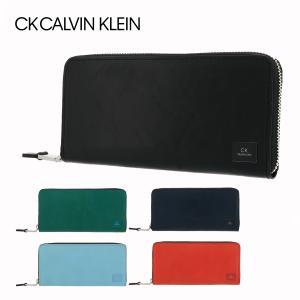 シーケー カルバンクライン 長財布 ラウンドファスナー ワキシー メンズ 809625 CK CALVIN KLEIN | 牛革 本革 レザー ブランド専用BOX付き|sacsbar