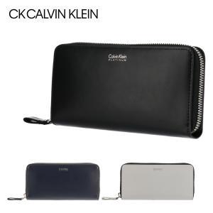 シーケー カルバンクライン 長財布 シャウト 813604 CK CALVIN KLEIN メンズ 本革|sacsbar