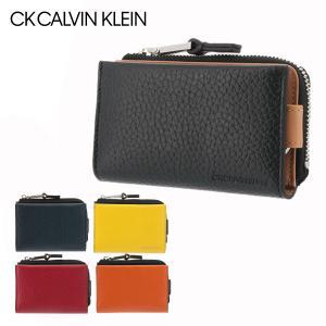 シーケー カルバンクライン キーケース ラップ 820622 CK CALVIN KLEIN コインケース レザー 本革 メンズ|sacsbar