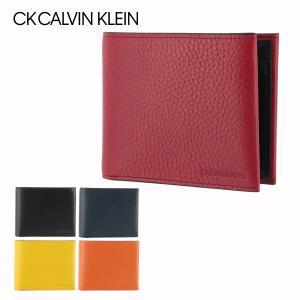 シーケー カルバンクライン 二つ折り財布 ラップ 820624 CK CALVIN KLEIN レザー 本革 メンズ sacsbar