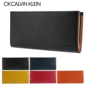 シーケー カルバンクライン 長財布 ラップ 820626 CK CALVIN KLEIN レザー 本革 メンズ sacsbar