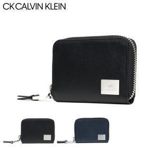 シーケー カルバンクライン 財布 小銭入れ レジンII メンズ 826651 CK CALVIN KLEIN | コインケース パスケース カードケース 牛革 本革 レザー|sacsbar