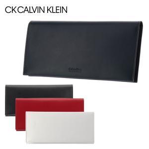 シーケー カルバンクライン 長財布 フォーカス 852605 CK CALVIN KLEIN メンズ 本革 薄型 sacsbar
