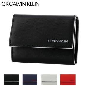 CK カルバンクライン 三つ折り財布 ミニ財布 ミニカラー メンズ 876604 CK CALVIN KLEIN 本革 レザー  [PO5]|サックスバーPayPayモール店