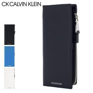 CK カルバンクライン 長財布 ニッチ メンズ877605 CK CALVIN KLEIN | 本革 レザー  [PO5]|サックスバーPayPayモール店