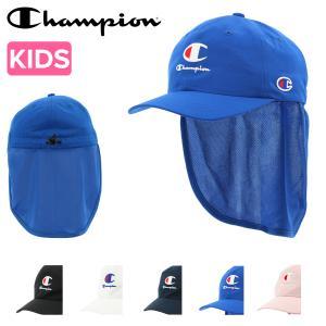 チャンピオン キャップ キッズ 141-0109 Champion 帽子 コットン サイズ調節可能