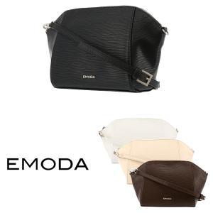 エモダ EMODA ショルダーバッグ EM-9258 水シボ型押し  レディース 型押し...