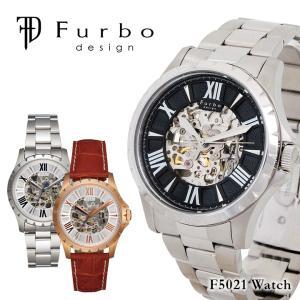 フルボデザイン Furbo design 腕時計 F5021  メンズ 自動巻き ステンレススチール...