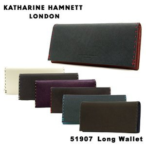 キャサリン ハムネット 長財布 490-51907 KATHARINE HAMNETT カラーテーラ...