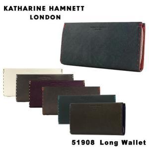 キャサリン ハムネット ラウンドファスナー 長財布 490-51908 KATHARINE HAMN...