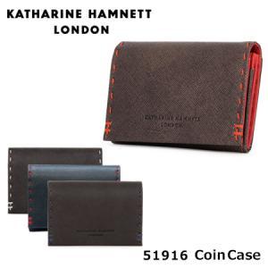 キャサリンハムネット KATHARINE HAMNETT コインケース 490-51916 カラーテーラード  小銭入れ レザー [PO10]|サックスバーPayPayモール店