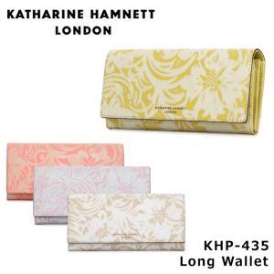 キャサリンハムネット KATHARINE HAMNETT 長財布 435 ナデシコ  財布 レディース レザー  [PO10]|サックスバーPayPayモール店