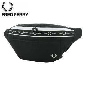 フレッドペリー ウエストポーチ モノクロームクロスボディバッグ メンズ L7228 FRED PER...