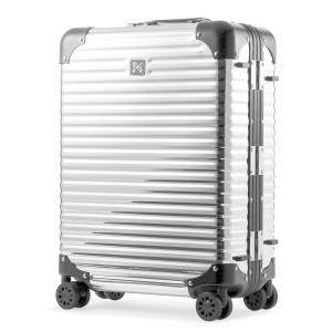 ランツォ スーツケース ダイアモンド 21インチ|機内持ち込み 34L 49cm 4.1kg|アルミニウム合金 5年保証|アルミ ハード フレーム TSAロック搭載 [PO10]|sacsbar