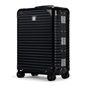 ランツォ スーツケース ノーマン 21インチ|機内持ち込み 34L 49cm 4.6kg|アルミニウム合金 5年保証|アルミ ハード フレーム TSAロック搭載 [PO10]|sacsbar