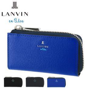 ランバンオンブルー キーケース ワグラム メンズ579602 LANVIN en Bleu   L字...