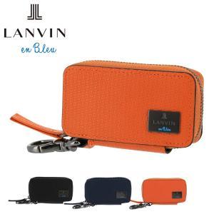 ランバンオンブルー キーケース スマートキー ハイデ メンズ 581607 LANVIN en Bl...