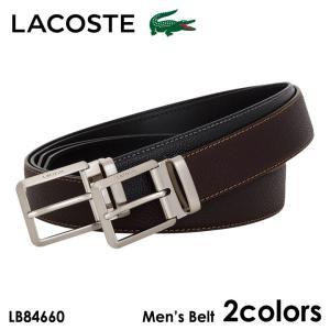 ラコステ LACOSTE ベルト LB84660 レザー メンズ