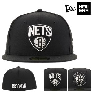 ニューエラ キャップ 59FIFTY NBA ブルックリン・ネッツ 帽子 NEW ERA | メンズ...