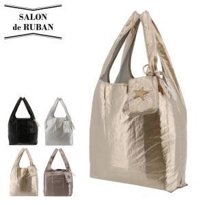 サロン ドゥ リュバン エコバッグ 折りたたみ コンパクト レジ袋 レディース SRA-563 SALON de RUBAN サックスバーPayPayモール店