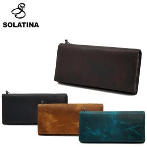 SOLATINA ソラチナ 長財布 38152 焦げ加工ホースレザー ロングウォレット 全4色 SC...