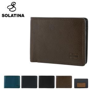 ソラチナ 二つ折り財布 アリゾナ メンズ SW-70022 SOLATINA | 本革 イタリアンレ...