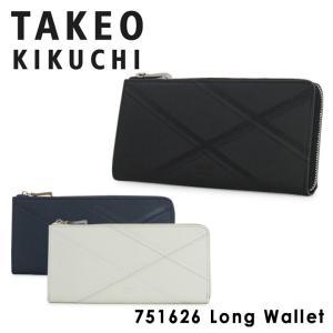 TAKEO KIKUCHIネクタイ柄をモチーフとした財布シリーズです。  ■サイズ:約W19.5×H...