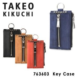タケオキクチ キーケース メンズ ティンバー 763603 TAKEO KIKUCHI カードケース...