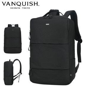 ヴァンキッシュ リュック メンズVQM-41820 VANQUISH | リュックサック バックパック ビジネスバッグ A3|サックスバーPayPayモール店