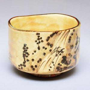 茶碗 茶道具 横井 清秀 作 乾山写 瀧山水図 茶碗 sadogu-kikuchi