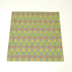 出帛紗 正絹 龍詰段織 緞子 茶道具 sadogu-kikuchi