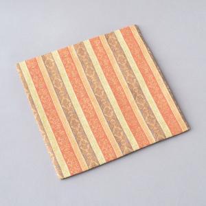 古帛紗 化繊交織 縞に唐松文 茶道具|sadogu-kikuchi