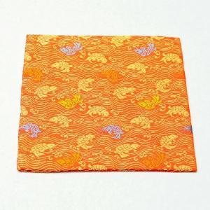 古帛紗 正絹 荒磯 錦 茶道具|sadogu-kikuchi