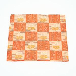 古帛紗 正絹 石畳地花紋 更紗 茶道具|sadogu-kikuchi