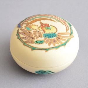 香合 茶道具 鳳凰図香合|sadogu-kikuchi