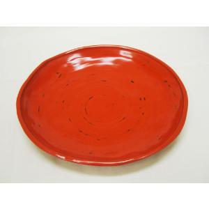 【茶道具 干菓子器】P.C.製 根来塗 白山皿|sadogu-kikuchi