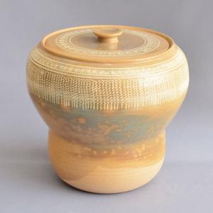 水指 茶道具 駕洛窯 御本三島箪瓢水指 sadogu-kikuchi