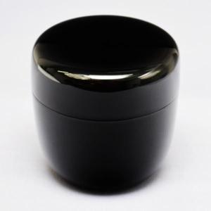 茶道具 棗 木製 真塗中棗 二寸二分|sadogu-kikuchi