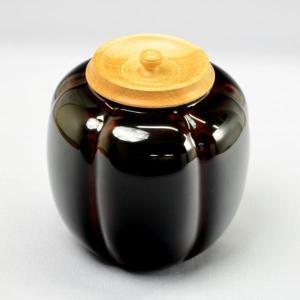 【茶道具 棗】木製 如心斎好写 阿古陀茶器(本漆塗)|sadogu-kikuchi