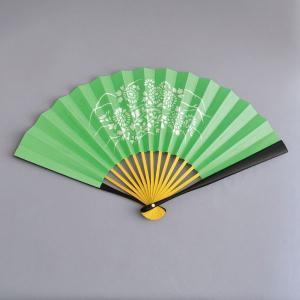 茶道具 扇子 6.5寸 黒塗 即中斎筆「瑞雲」複写|sadogu-kikuchi