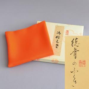塩瀬 帛紗 正絹 錆朱 戸(29g) 茶道具|sadogu-kikuchi