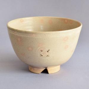茶碗 茶道具 清水茂生 作 萬古焼 御本 狂言袴 茶碗 sadogu-kikuchi
