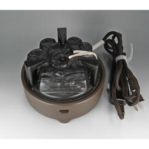 遠赤外線炭型ヒーター 電熱器 電気炭 風炉用(強弱切り替えスイッチ付き) |sadogu-nanakusa