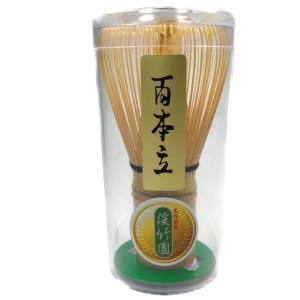 茶筅 100本立 百本立 穂数が多く点て易い茶せん 茶道具|sadogu-nanakusa