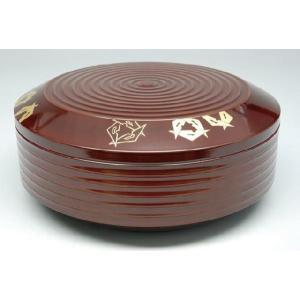 喰籠(菓子器) 木質 ロクロ目喰篭 鱗鶴 茶道具|sadogu-nanakusa