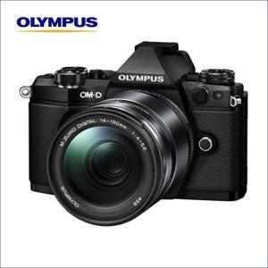 オリンパス(OLYMPUS) マイクロ一眼 OM-D E-M5 MarkII レンズキット ブラック 「M.ZUIKO DIGITAL ED 14-150mm F4.0-5.6 II」|saedaonline