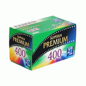 フジフイルム  35ミリ ネガカラーフィルム フジカラーSUPERIA プレミアム400 27枚撮り
