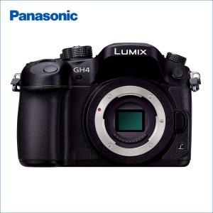 パナソニック(Panasonic) LUMIX(ルミックス) DMC-GH4-K  ボディのみ(レン...
