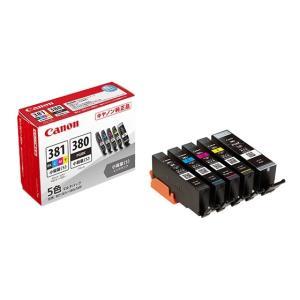 【ネコポス便配送商品】キヤノン(Canon) 純正インクカートリッジ  BCI-381S+380S/5MP 5色パック(小容量)|saedaonline